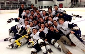 It took 2 OTs and 83:05 of play before Jeremy Germain, from Gordie Borek, scored the goal that gave Choate a 4-3 win over Nichols in the finale of the