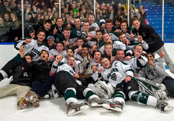 Brooks topped Kents Hill, 4-1, to win the NEPSIHA Small School Championship Game.