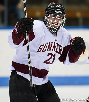 A rocket from Gunnery's Joey Fallon with 2:02 left in regulation tied the title game at 2-2 -- and sent it to OT