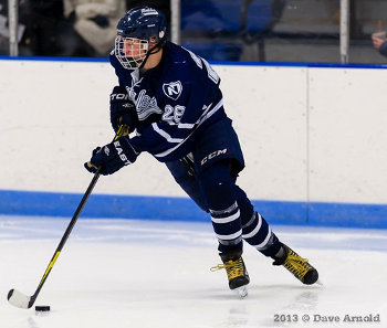 Nobles Jr. F Miles Wood, a Brown recruit and NJ Devils 4th round draft pick, enters 2014 with 17 points in 10 games