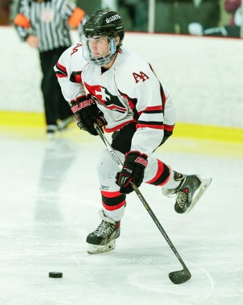 Albany PG wing Nick Boyagian (2g,1a) torched Avon in the third period Saturday.