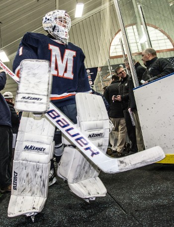 Milton Academy went 3-0-1 at the Flood-Marr, and junior G Ethan Domokos, with a 1.50 gaa and .942 save % in four games, was a big reason why.