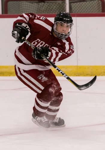 Groton junior Jonah Gold had five points -- 4 goals and an assist -- in a 6-2 win over NYA