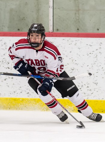 Tabor senior F and UVM recruit Jay Cote (1g, 2a) figured in all 3 Seawolves goals in Saturday's 3-3 tie with Dexter.