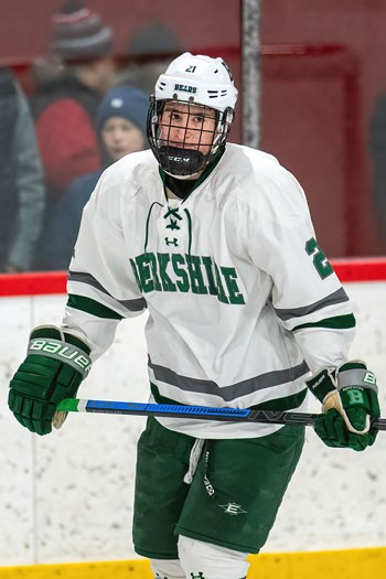 Berkshire senior F Briggs Gammill has been a force for the 14-7-2 Bears all season. The Yale commit, who has been at Berkshire since he was a freshman