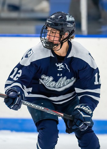 Nobles junior David Jacobs had 5 points (1g,4a) in the Bulldogs 5-1 win over Thayer Sat. Jan. 11th.