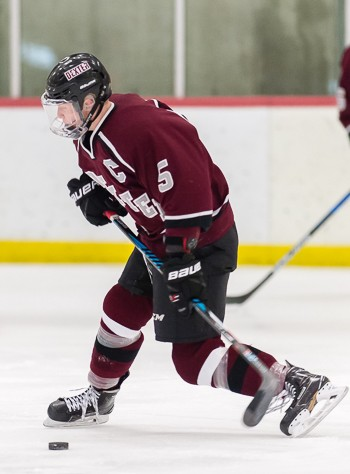 Dexter junior D Jack Rathbone, a Harvard recruit and sure-fire NHL draft pick this summer, scored 2 big goals in Dexter's 3-3 tie vs. Tabor Sat. Feb.