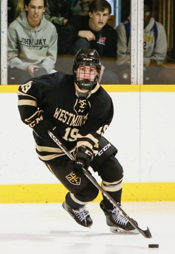 Westminster sophomore Jacob Monroe had a goal and an assist in the Martlets 4-2 win over Kent Saturday.